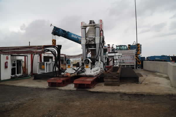 Redpath equals record for largest-diameter hole reamed in Africa to date