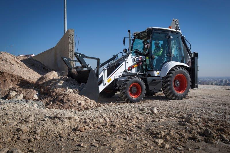 Versatile Bobcat B730 backhoe loader for a range of applications