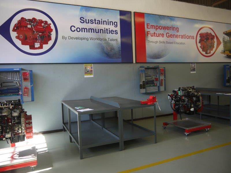 Cummins and Komatsu launch Technical Education for Communities (TEC) programme in South Africa-approved
