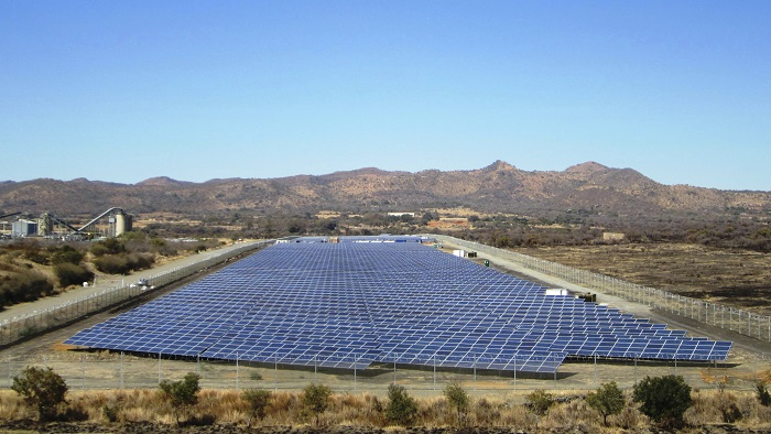 B2Gold Namibia launches solar farm