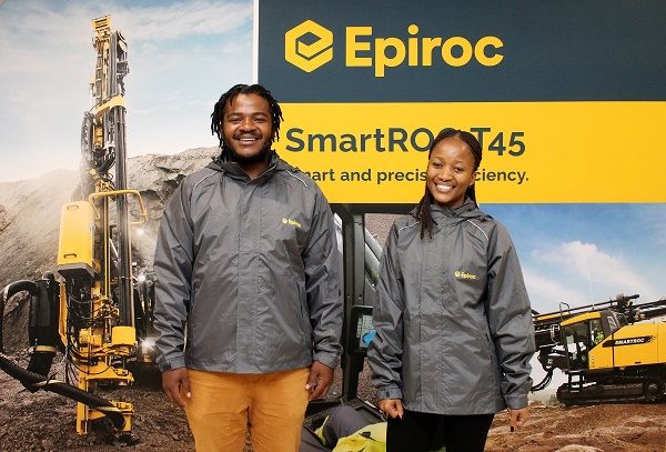 Epiroc sponsors Wits students on their Mine Engineering journey