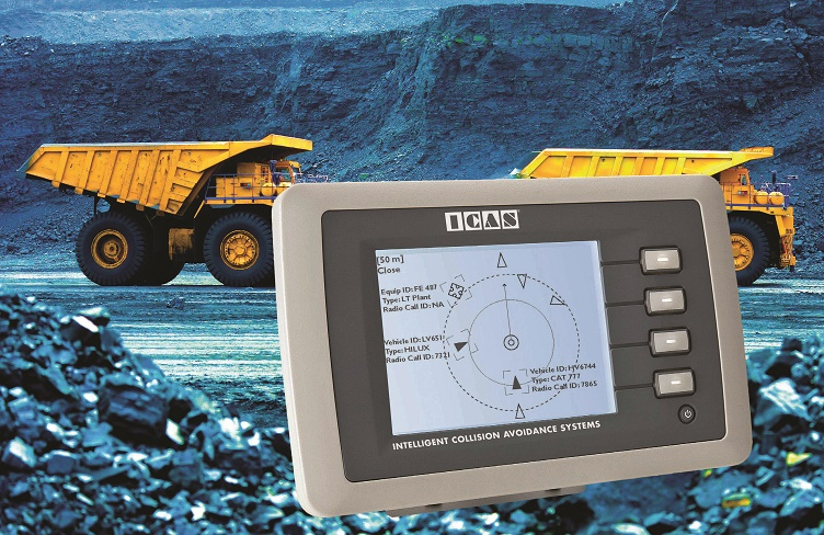 Becker Mining SA - ICAS surface collision avoidance safety system