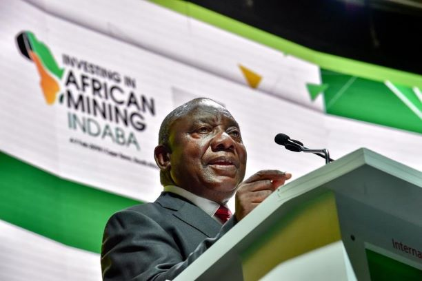 Presidents Ramaphosa and Akufo -Addo address Africa Mining Indaba