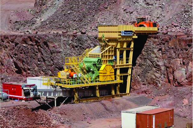 thyssenkrupp presents revolutionary hard rock crusher and enhanced HPRG at the Africa Mining Indaba