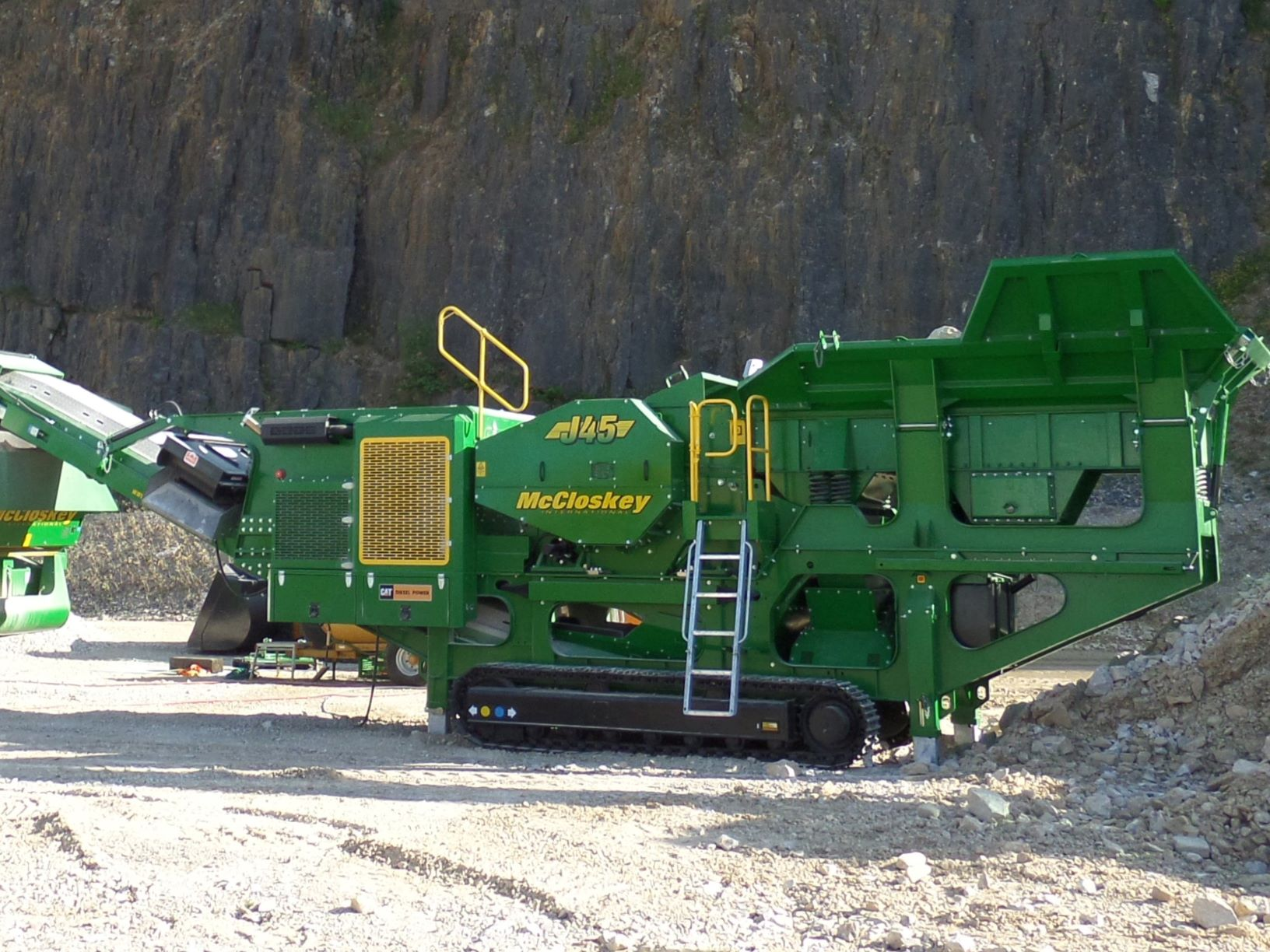HPE Africa's McCloskey J45 high capacity mobile jaw crushers