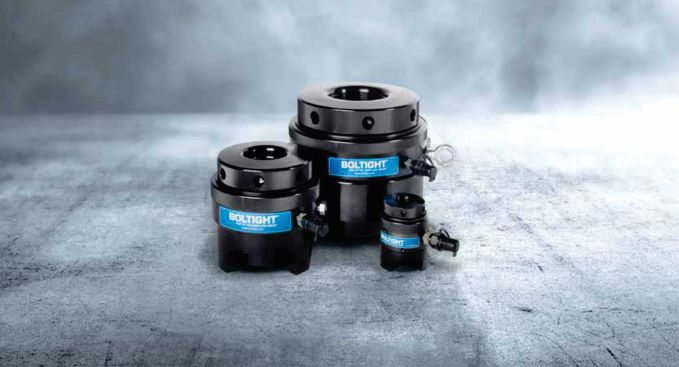 BMG's Boltight hydraulic bolt tensioners