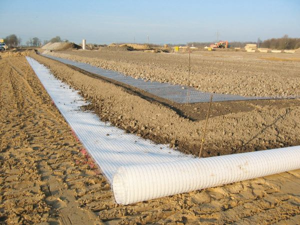 Fibertex - Secugrid geosynthetic geogrid reinforcement for infrastructure projects