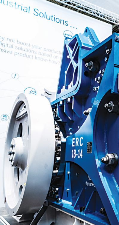 Crushing the efficiency barrier - thyssenkrupp Eccentric Roll Crusher