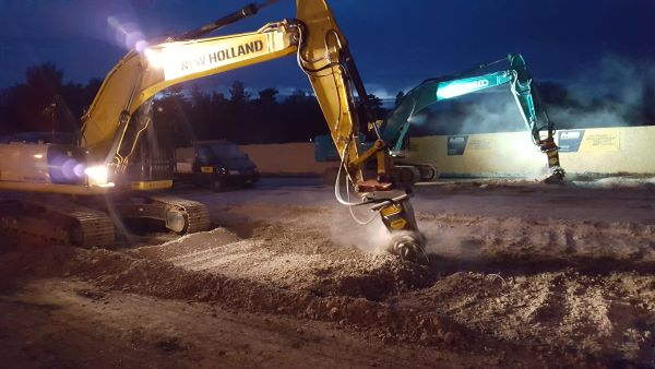 Projects carried out on bridges and busy roads