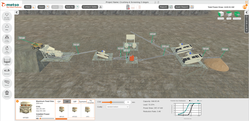 Metso launches My Plant Planner on-line configurator for designing efficient crushing and screening plants