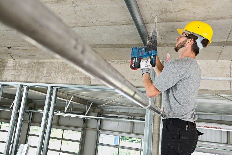 Bosch launches new generation of 18 V rotary hammers