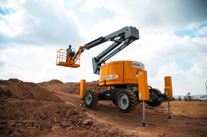 Goscor Access Rental introduces latest crawler boom lift from France