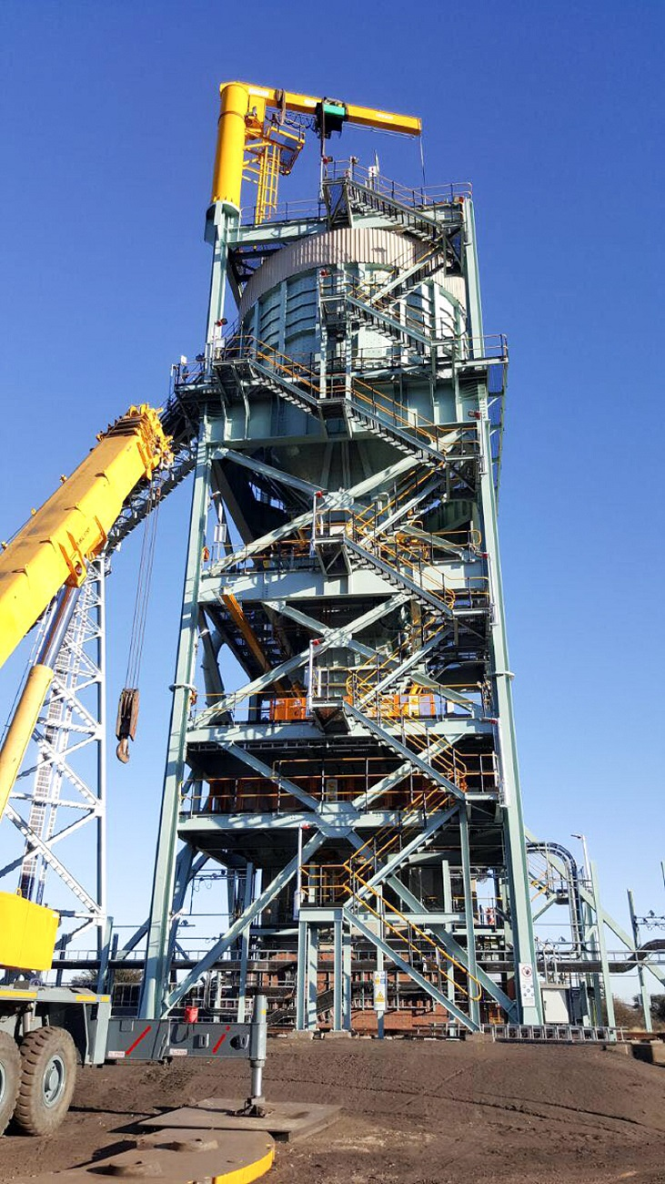 Verlinde Cranes & Hoists Delivers the Biggest Jib Crane to Black Rock Operations in South Africa
