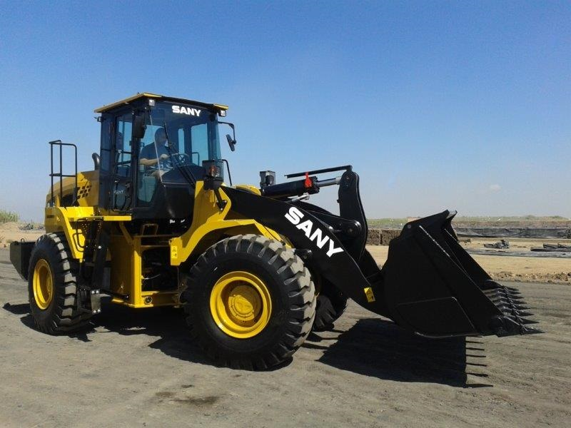 SANY is at the front end of mining with its latest wheel loader