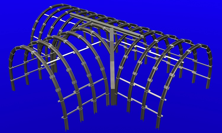 Becker Mining South Africa's steel arch roof support systems provide dependable tunnel support and safe working conditions