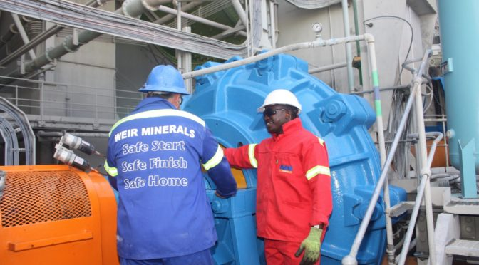 WEIR BOOSTS CAPACITY AND FOOTPRINT IN AFRICA, MIDDLE EAST