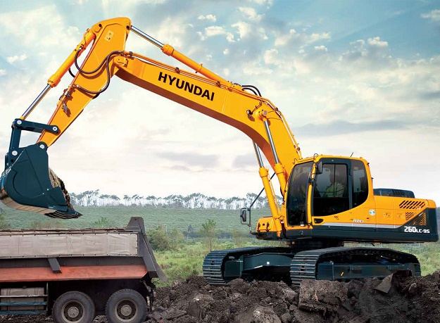 HPE Africa introduces Hyundai H260LC-9S crawler excavators to the local market
