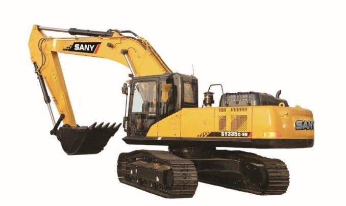 R15m worth of SANY equipment supplied for coal-mine rehabilitation