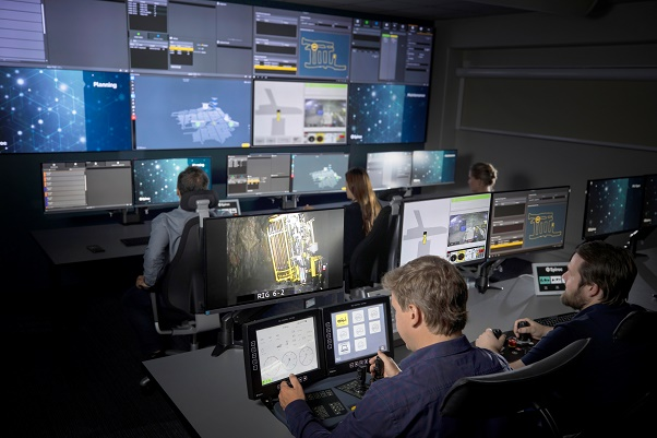 Epiroc Control Tower – The digital mine in action