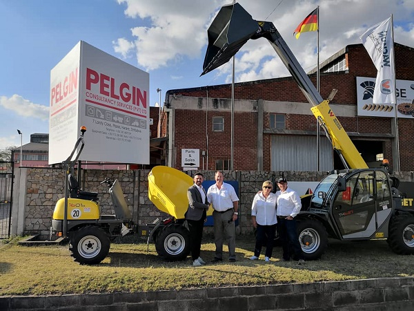 Wacker Neuson makes its mark in Zimbabwe with appointment of new dealer - Pelgin Consulting Services