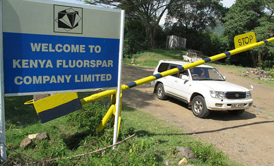 Kenya to delay revival of fluorspar mining following dispute over compensation