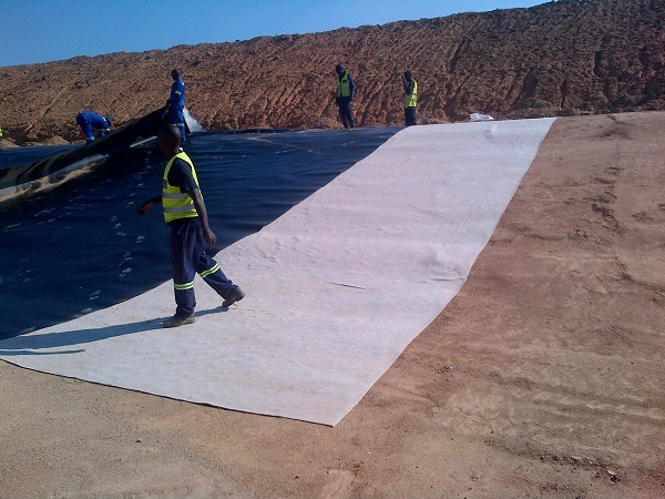 Fibertex Bentofix Geosynthetic Clay Liners (GCL) for use as sealing barriers in landfill applications