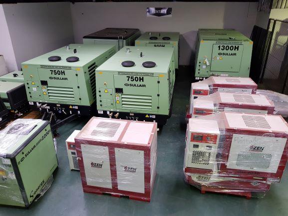 Goscor Compressed Air Systems boosts rental fleet