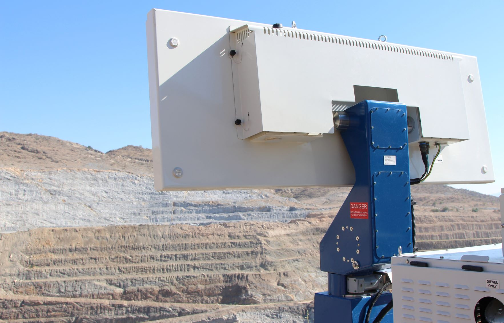 Reutech Mining launches fastest scanning slope monitoring radar
