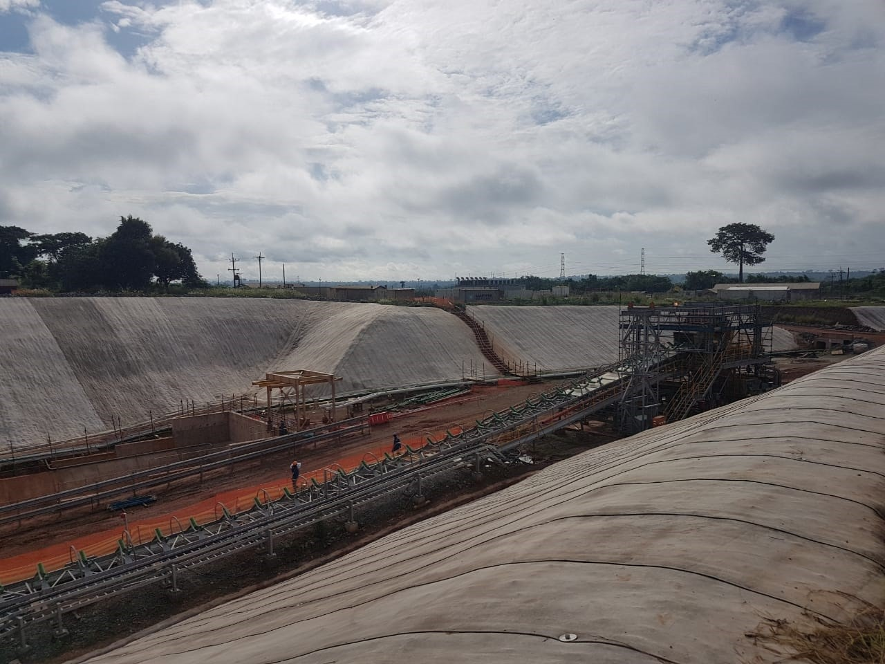 Geosynthetic Cementitious Composite Mats in African mining