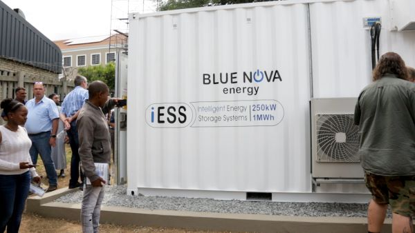 BlueNova's intelligent Energy Storage System -